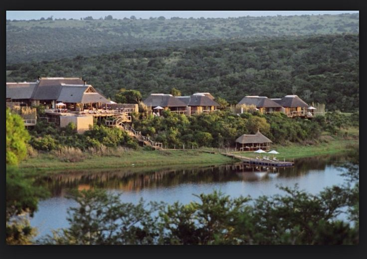 The wide spread, but convenient, layout of these game lodges is awesome and adds five star luxury flavor to the designs