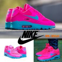 "Nike(ナイキ) スニーカー 人気カラー★NIKE AIR MAX 90 BR GS ""Cotton Candy""★関送込み!"