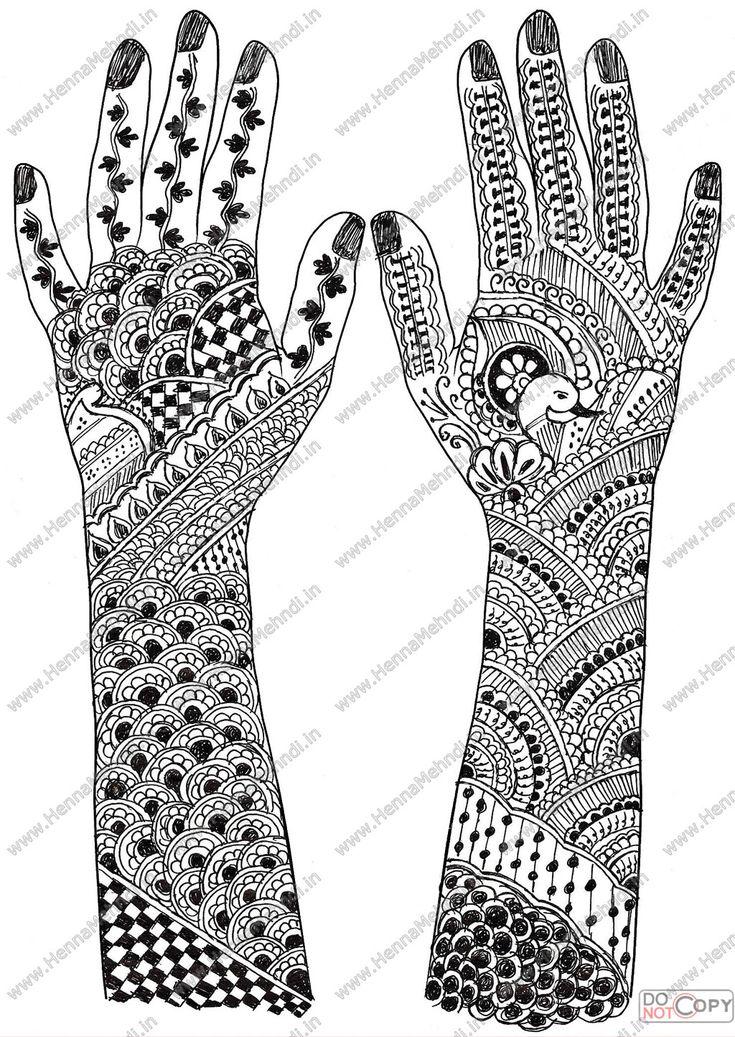 mehandi designs | henna mehndi designs6 Latest Bridal Arabic Designs Bahavudeen Rahmath