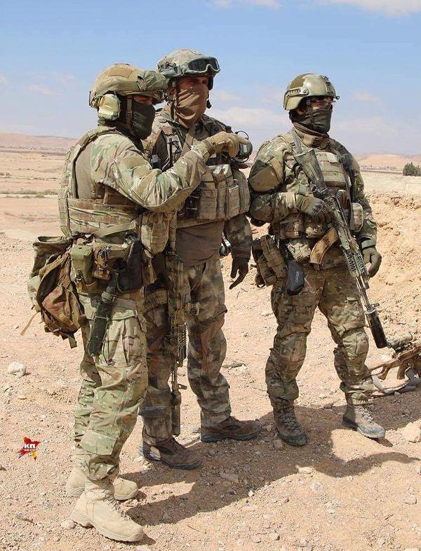 Русский спецназ в сирийской пустыне ССО РФ, Сирия, Россия, длиннопост, война, политика