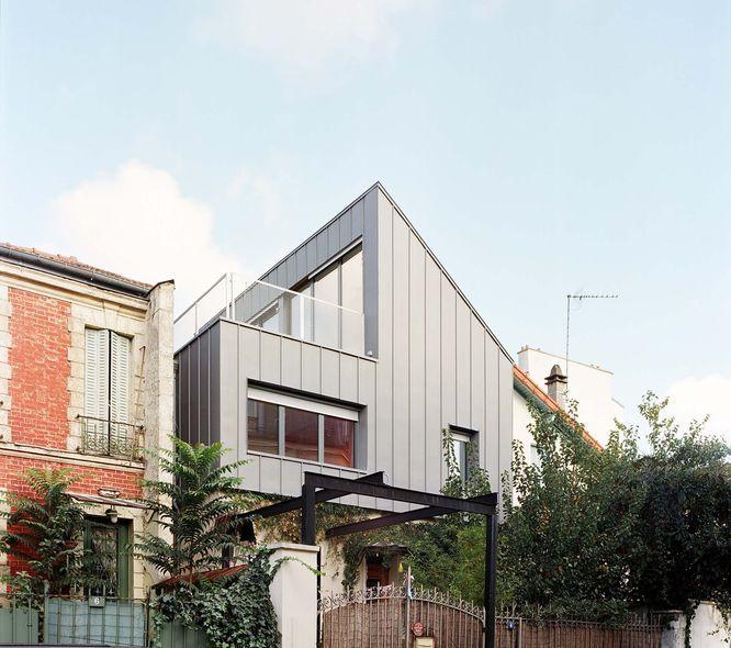 Bauchet & de La Bouvrie Architectes - Surélévation d'une maison à Montreuil - JAPL 2015