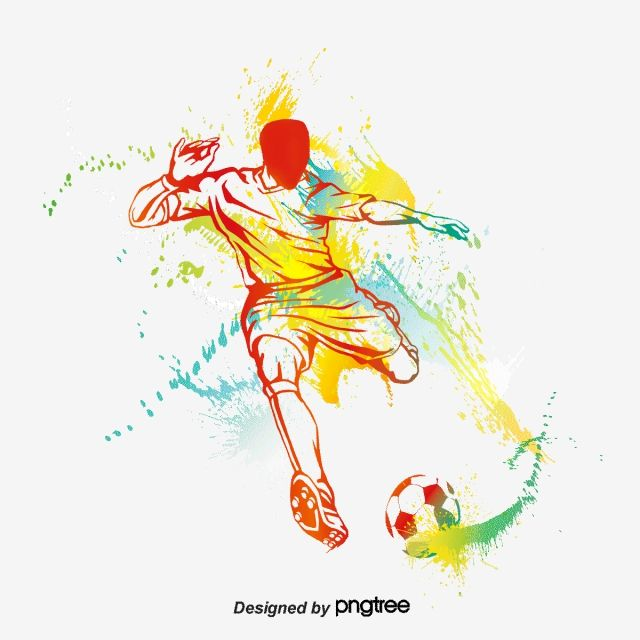 Football Player Silhouette Vector And Png Football Silhouette Football Players Artist Inspiration