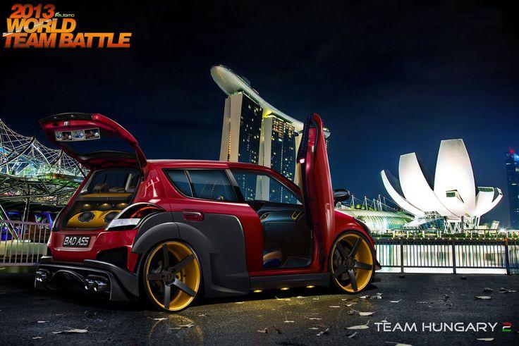 WTB round 3 Suzuki Swift by blackdoggdesign.deviantart.com on @DeviantArt