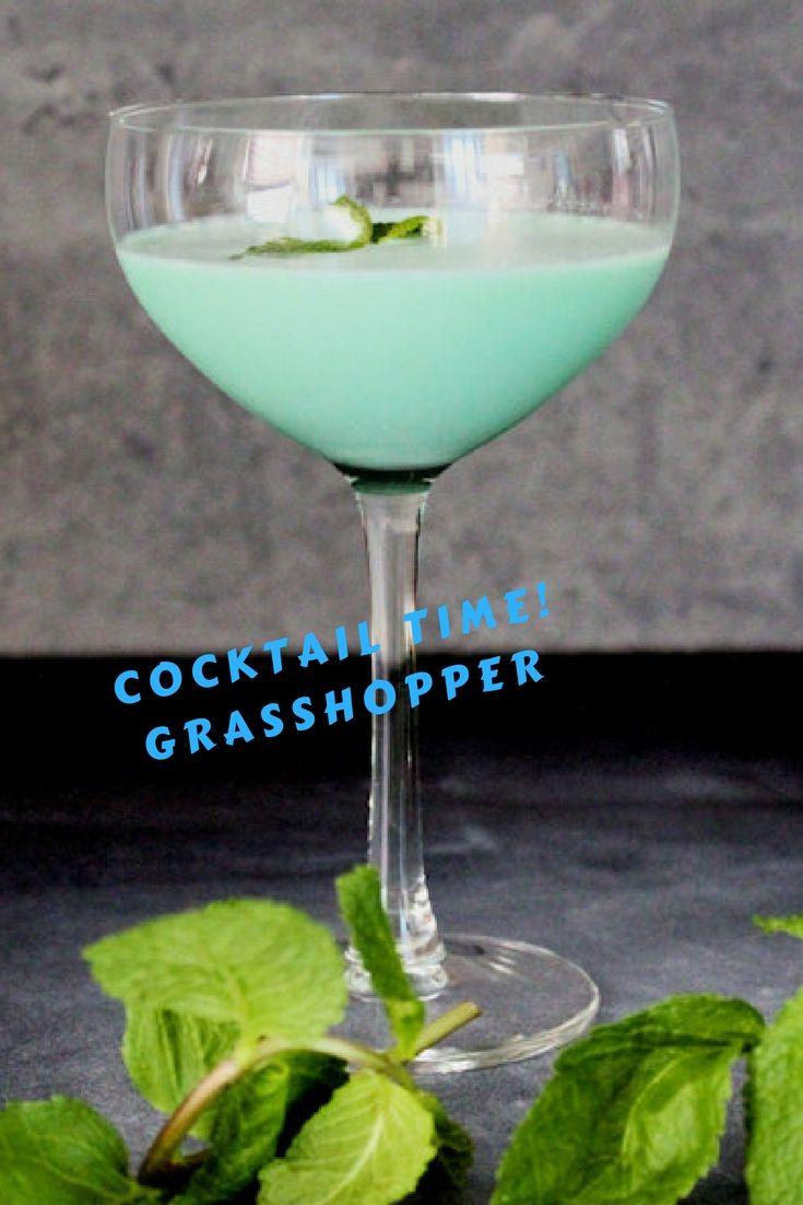 Cocktail recept | Grasshopper - met crème de menthe