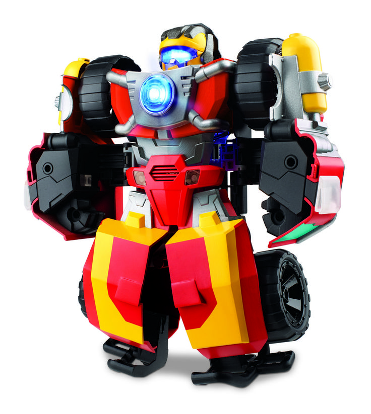 Official Images for Transformers: Rescue Bots Hot Shot, Rescue Guard Bumblebee, Knight Watch Optimus, More #HasbroToyFair #NYTF