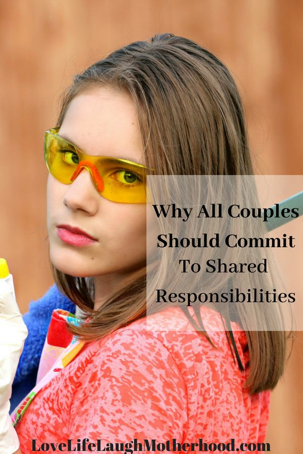 Why All Couples Should Commit To Shared Responsibilities In The Household #parenting #relationships #marriage #homemaking