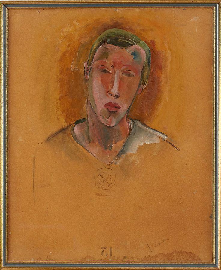 Vera Nilsson oljemеlning | Stockholms Auktionsverk Online