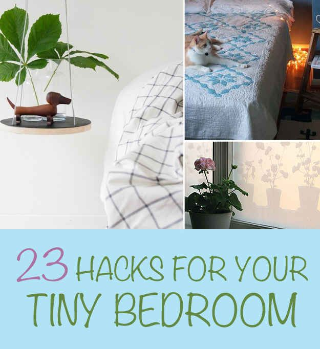 I've always had a small ish bedroom. These are useful tips!
