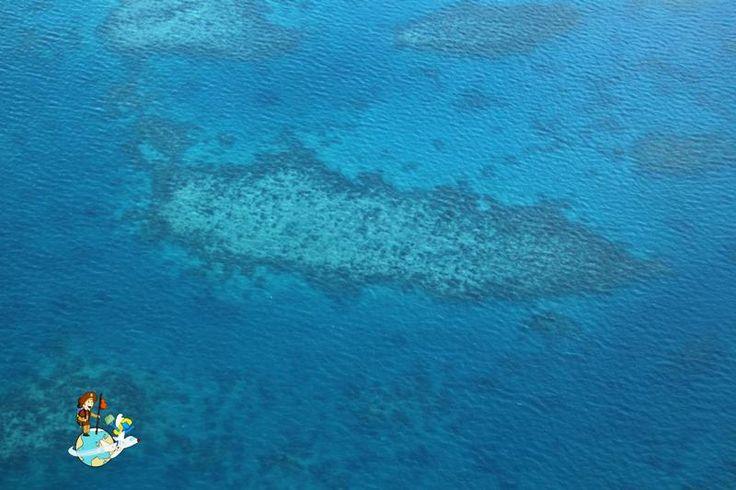 Gran Barrera de Coral desde las alturas