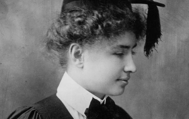 In 1904, Helen Keller graduated from Radcliffe College. While in college, she began writing her memoir, The Story of My Life. ...
