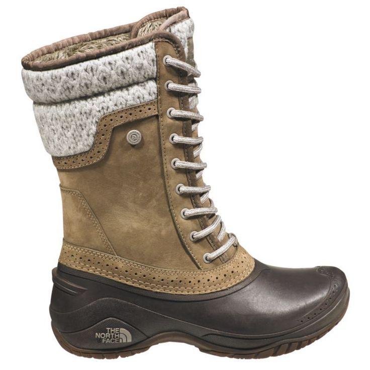 The North Face Women's Shellista II Mid 200g Waterproof Winter Boots, Size: 9.5, Brown