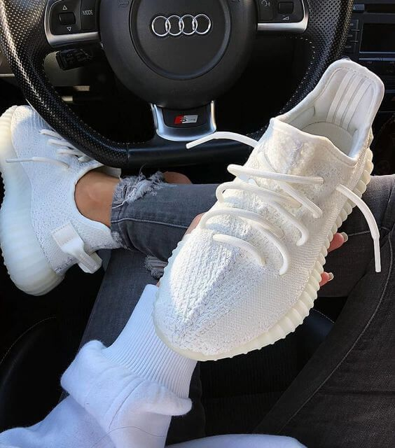 How To Get Authentic Adidas Yeezy Boost 350 V2 Triple White