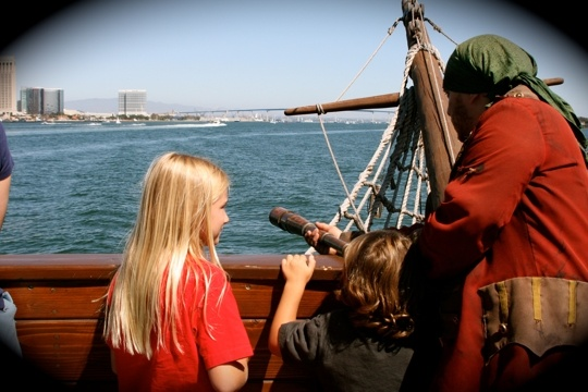 Argh! Bring your Family Aboard a Pirate Ship in Sunny San Diego (and Pirate Attractions across the U.S.). Kid Friendly Travel - Trekaroo.com