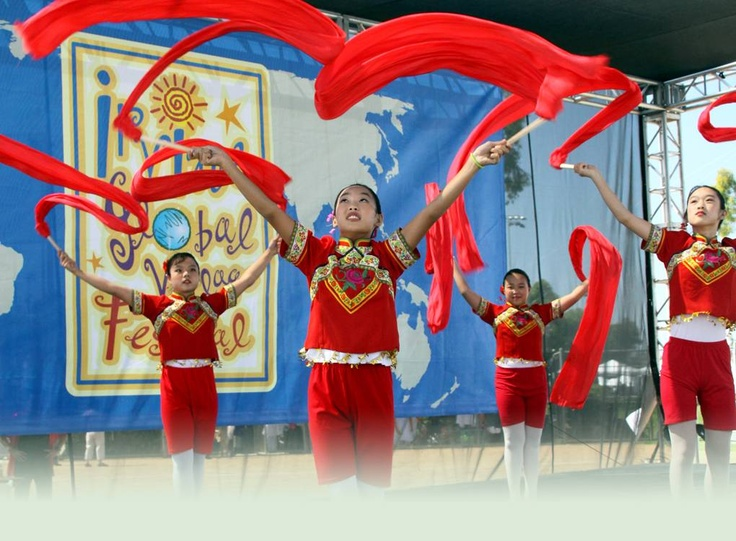 Irvine Global Village Festival 9/29/12. BEST  FREE! event in Orange County. OC High School of the Arts OShop opens here.