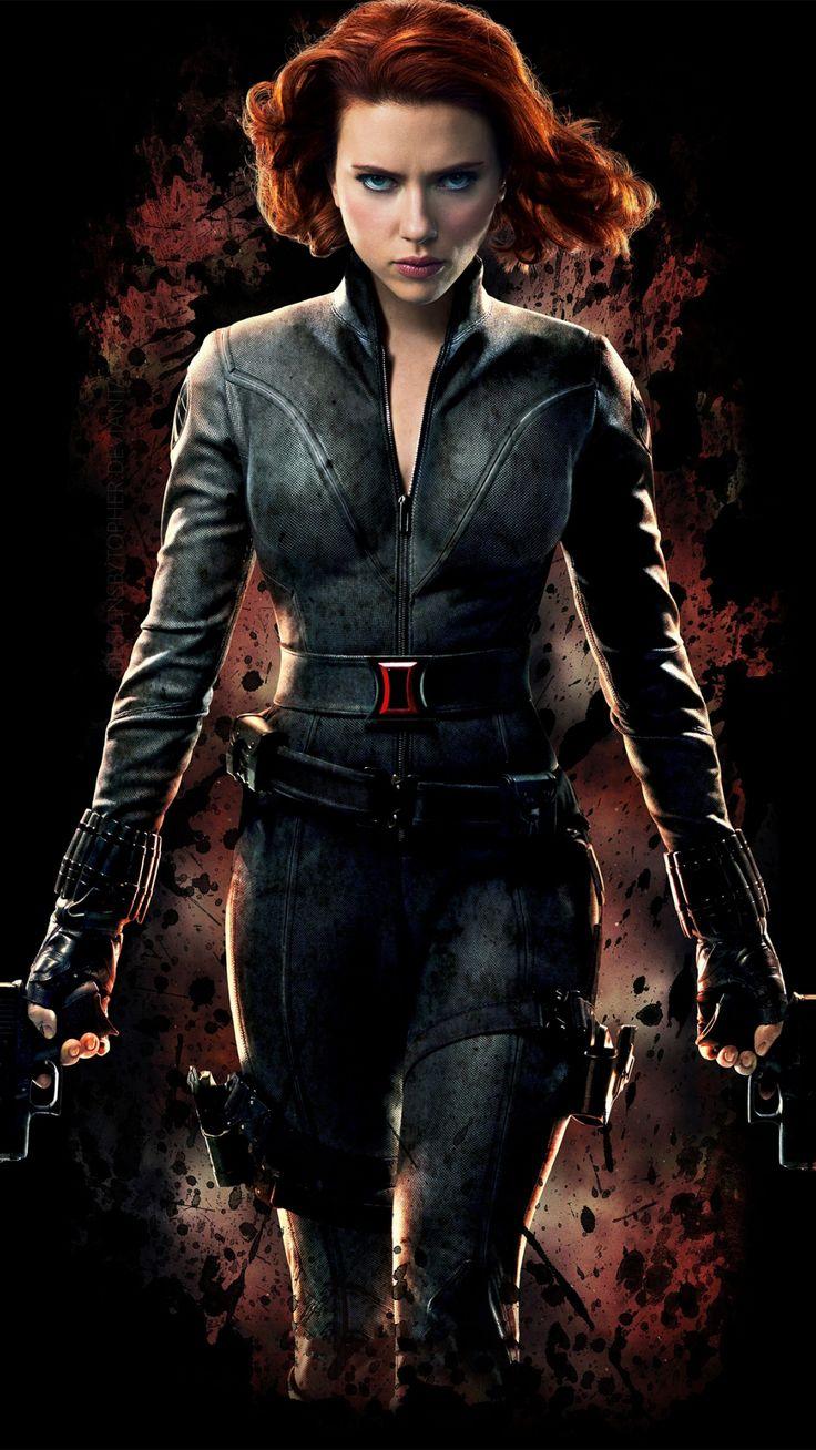 Black Widow, avengers, Scarlett Johansson, minimal Wallpaper