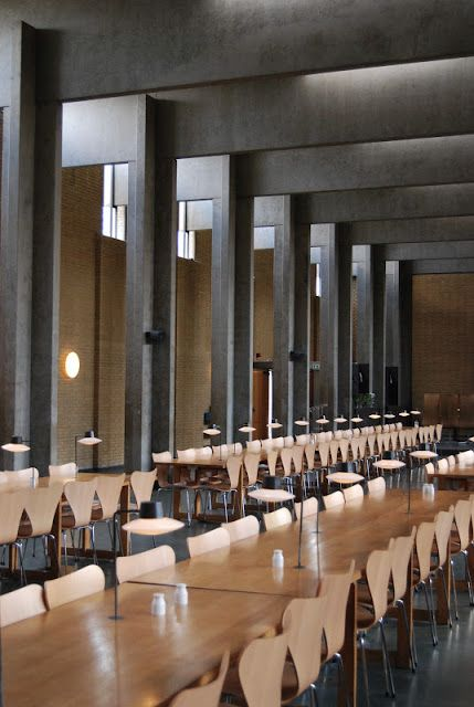 St Catherine's College, Oxford by Arne Jacobsen
