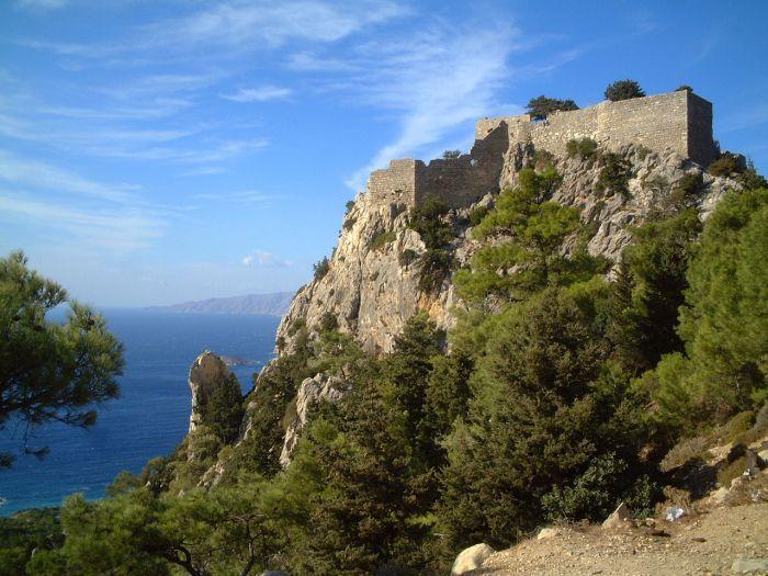 Monolithos castle, Monolithos, Rhodes, Greece