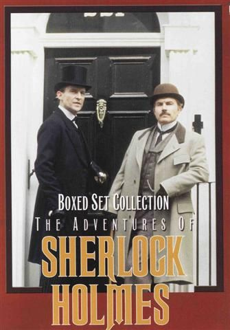 """""""Sherlock Holmes"""" with Jeremy Brett.  I love this show oh-so very much...  Don't tell the others."""