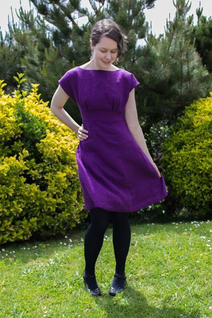 Making It Well: Completed: The Anna Dress byhandlondon