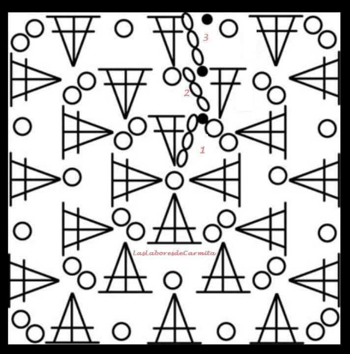 Mejores 14 imágenes de Crochet en Pinterest   Patrones de ganchillo ...