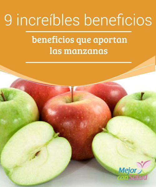 9 increíbles beneficios que aportan las manzanas  La manzana es una de esas frutas que se pueden disfrutar casi que en cualquier época del año. Y es que, además de ser deliciosa y versátil, es rica en propiedades nutricionales que le aportan increíbles beneficios al cuerpo para mejorar la salud.