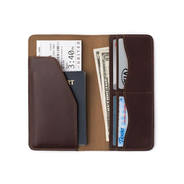 Leather Passport Case - I have a Big Mouth... by VIDA VIDA LroZF