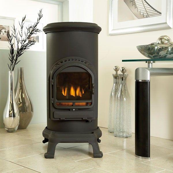 Thurcroft Living Flame Stove  Flueless Portable Calor Gas Heater Mobile Fire
