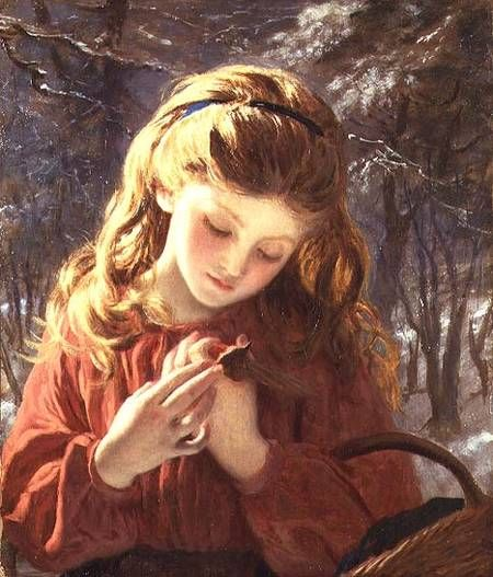 Sophie Anderson  A New Friend