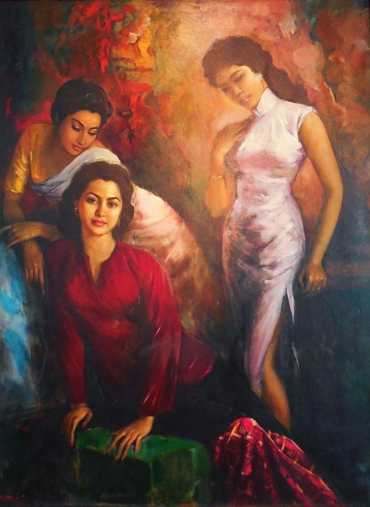Basoeki Abdullah - Keluarga Cantik (Mooie familie)