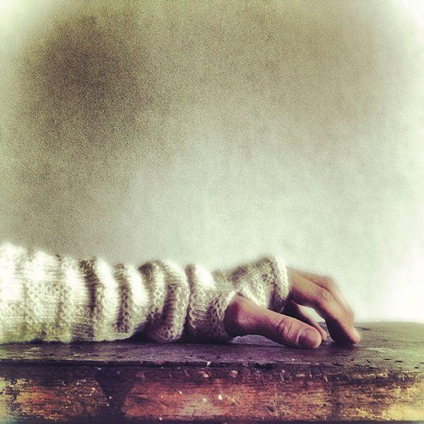 twined knitted tvåändsstickat