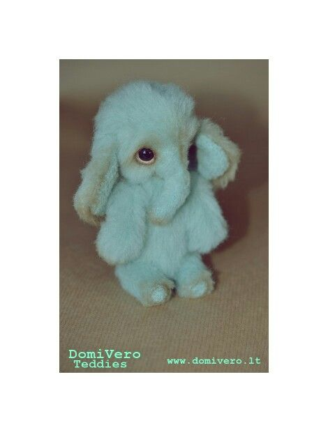 The little elephant. This little baby will bring you good luck and prosperity. www.domivero.lt