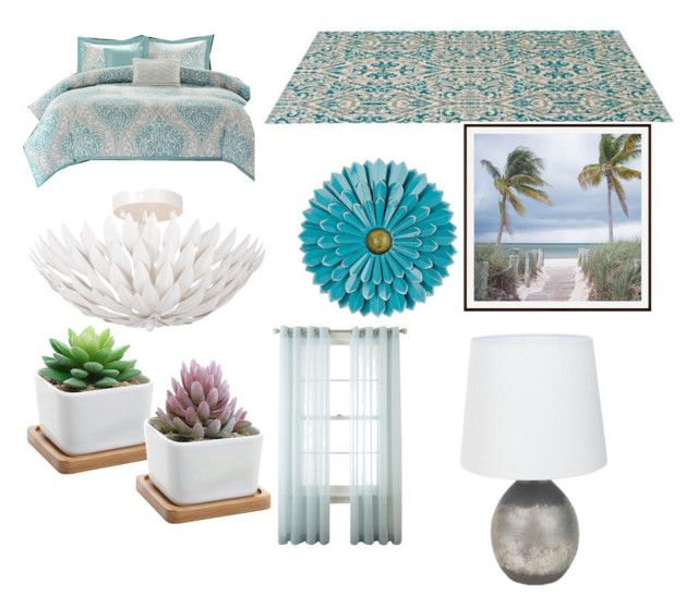 bed by annajo-i on Polyvore featuring polyvore interior interiors interior design home home decor interior decorating Pottery Barn Royal Velvet bedroom