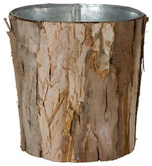 Wrapped Bark Pot eclectic waste baskets.Hand-picked recommendations of the best product designs from Terrain