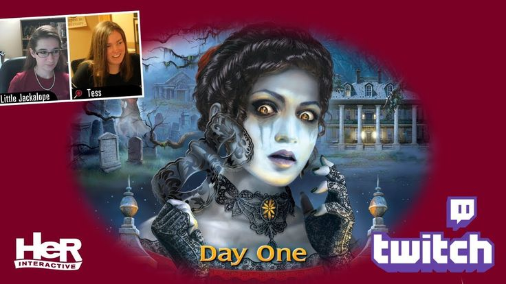 Nancy Drew: Ghost of Thornton Hall [Day One: Twitch] | HeR Interactive
