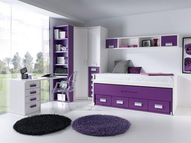 Αποτέλεσμα εικόνας για детская комната для девочки фиолетовая