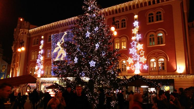 shopping centre Christmas tree - five minutes from Grand Hotel Praha