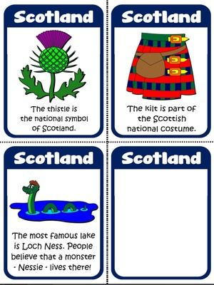 Scotland - Flashcards