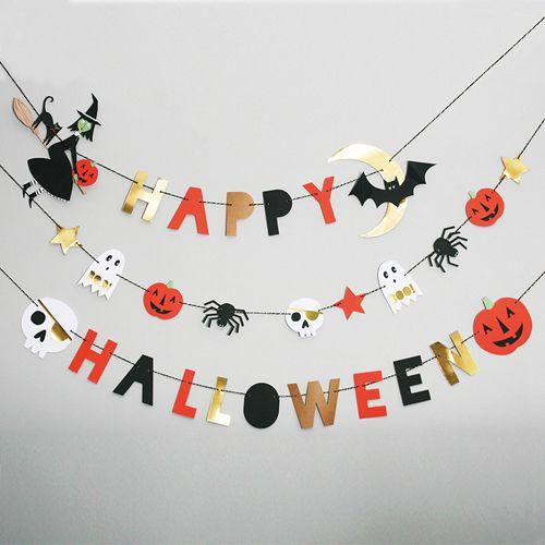 Adorable Halloween banners #hautehalloween