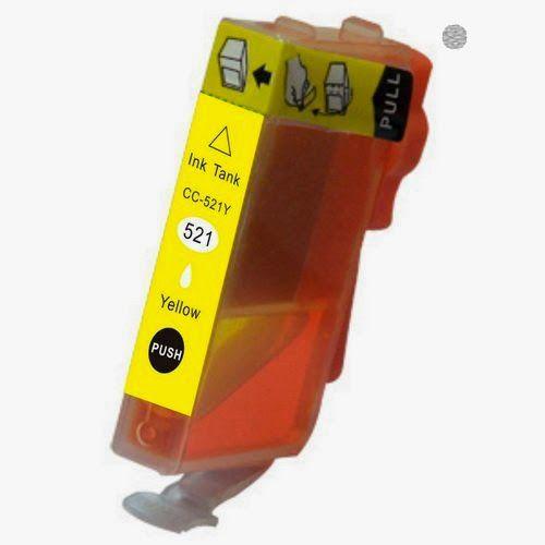 inkPrinted Distribución y Venta de Cartuchos de Tinta y Tóner para impresoras INFORMA: Tinta compatible canon 2936b001 cli 521y amarillo ...
