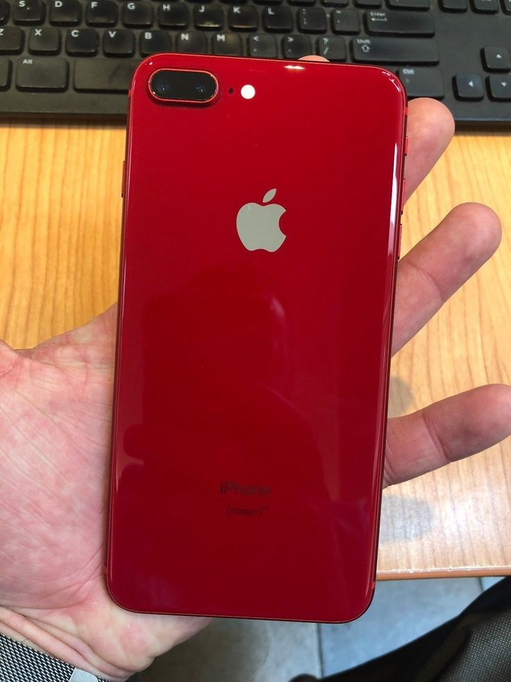 Apple iPhone 8 Plus 64GB Product Red (AT&T) Great