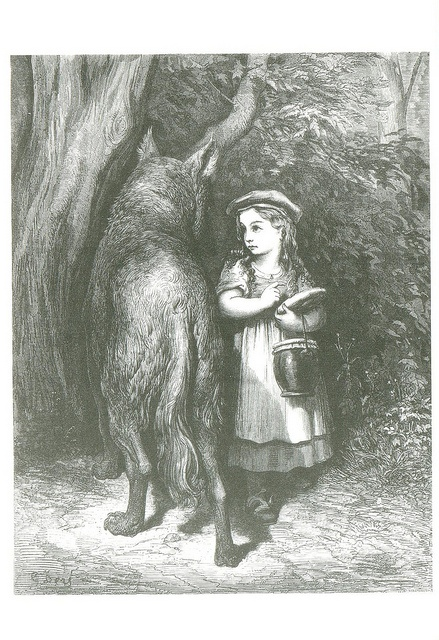 'Little Red Riding Hood' by Paul Gustave Doré