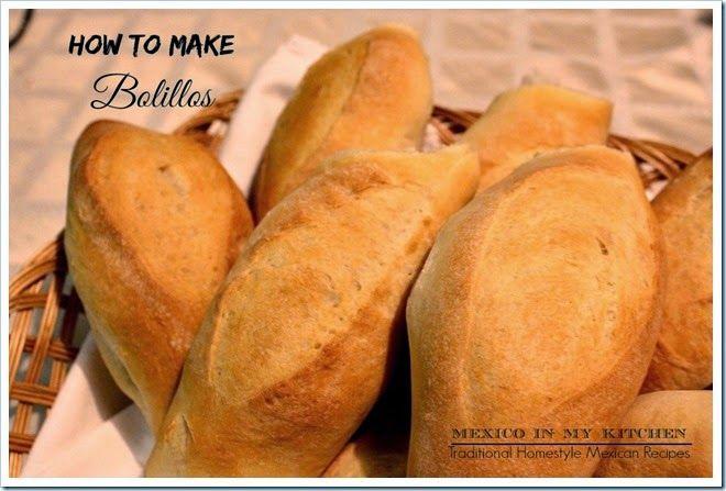 How to make Mexican Bolillo rolls, crusty bread to make tortas.Step by step photos. Pan francés hecho en casa con instrucciones paso a paso con fotos.