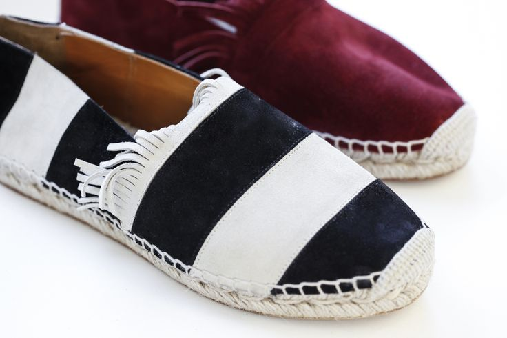 The end result between #fashion and the inspirations from the architects' work, Charles-Édouard Jeanneret-Gris, or better known as Le Corbusier, were beyond expectations.  #Chloé #spring #summer #ss #2015 #shoes #stripes