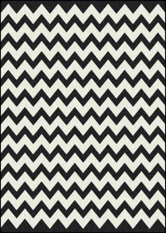 On Some Forgotten Design Show I Saw The Designer Paint Floor B W Zig Zags And Loved It Ve Since Been Obsessed With Za