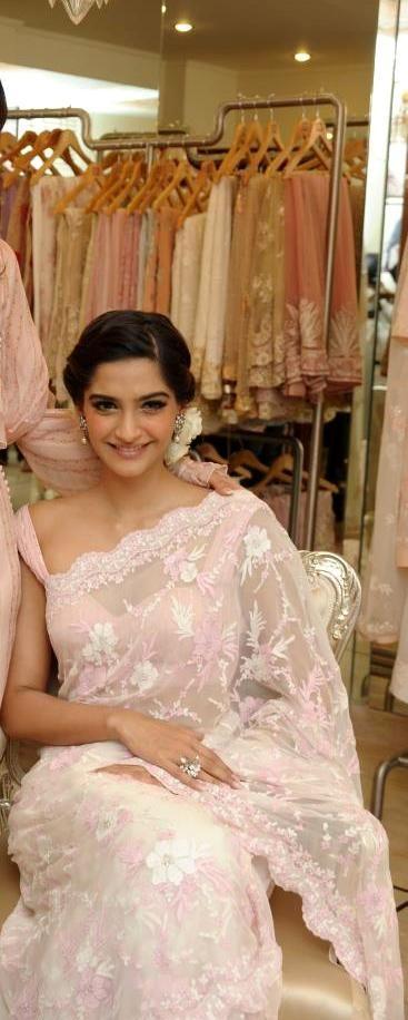 'Lace Sari Wedding gown'