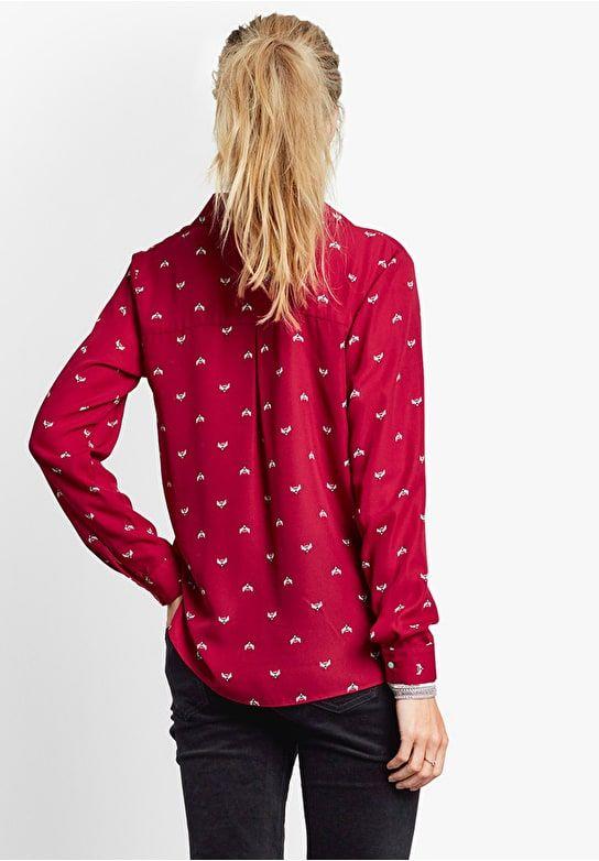 58e78ad56c4e83 atlas wrap shirt Red