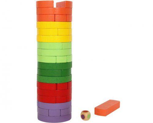 """Πύργος ισορροπίας/ Wobbling Tower """"Round & Coloured"""""""