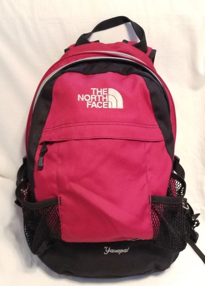 53ac65ab0b31 THE NORTH FACE YAVAPAI Red Black Daypack Backpack Bookbag | Back to ...