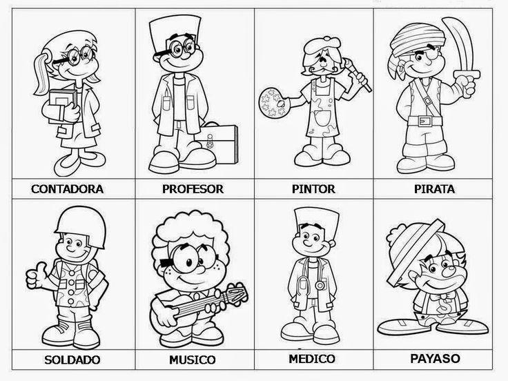 88 best Profesiones images on Pinterest | Profesiones, Guardería y ...