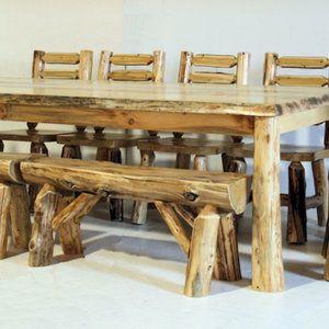 23 best log furniture images on Pinterest